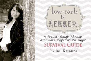 Low Carb is lekker cover