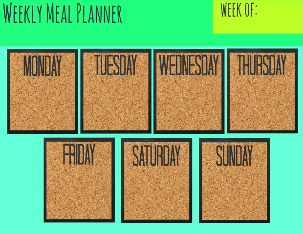 Meal Planner freebie copy