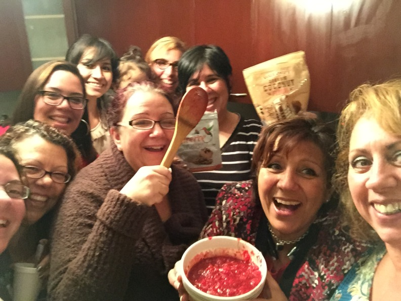 Our November 2014 FittoServe Meeting (learning how to bake/cook low carb)