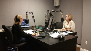 The great Donna Jean from 90.9Lifefm interviewing me.