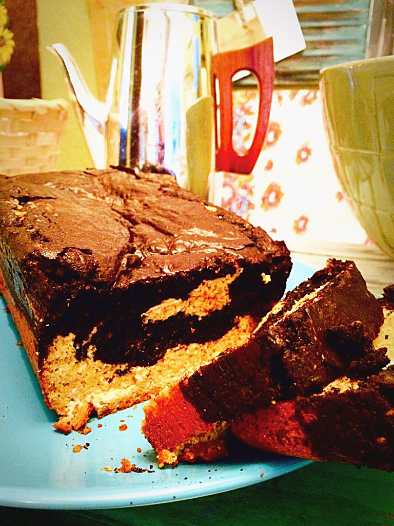 low carb mocha pound cake