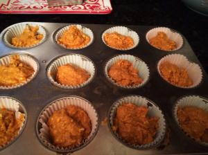 low carb pumpkin cupcake