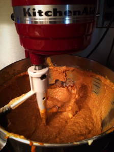 low carb pumpkin cupcake batter