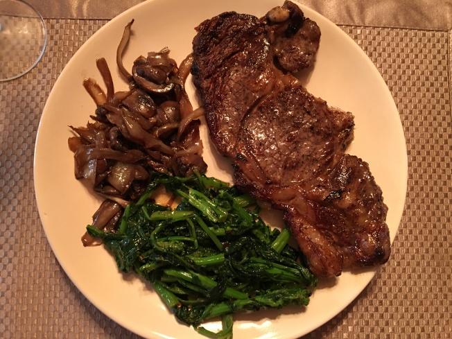 low carb gourmet meal