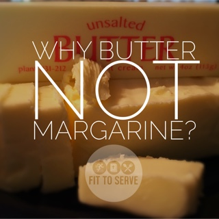 why choose butter over margarine?