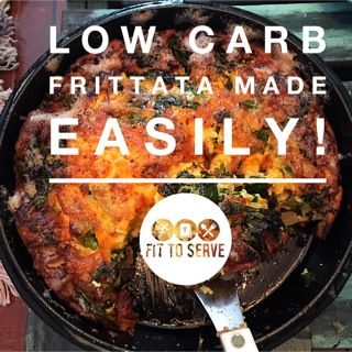 Low carb frittata crustless quiche