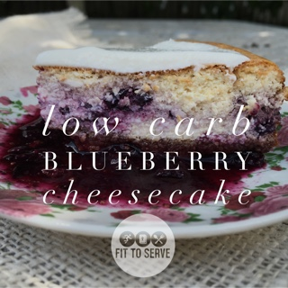low carb cheesecake for national cheesecake day