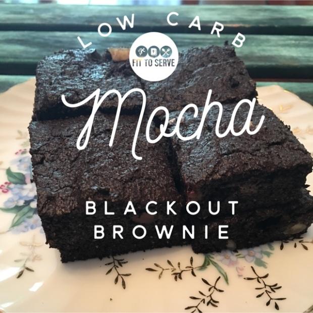 low carb blackout brownies