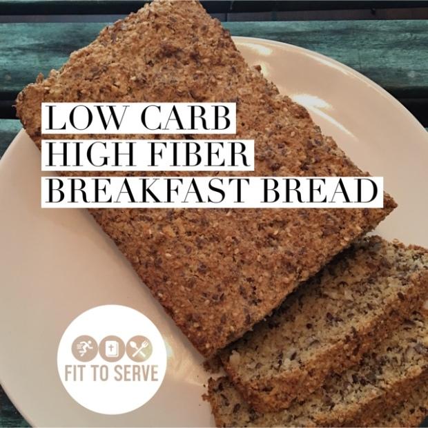 low carb psyllium bread
