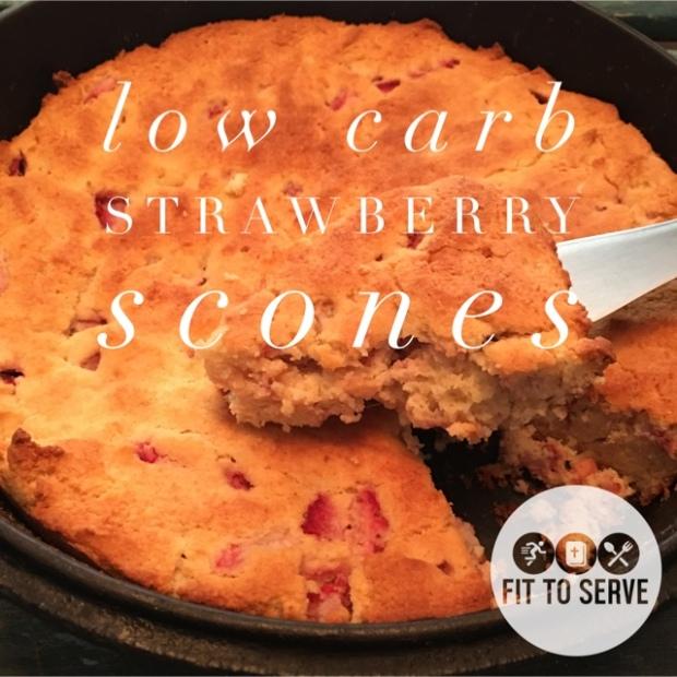 low carb scones