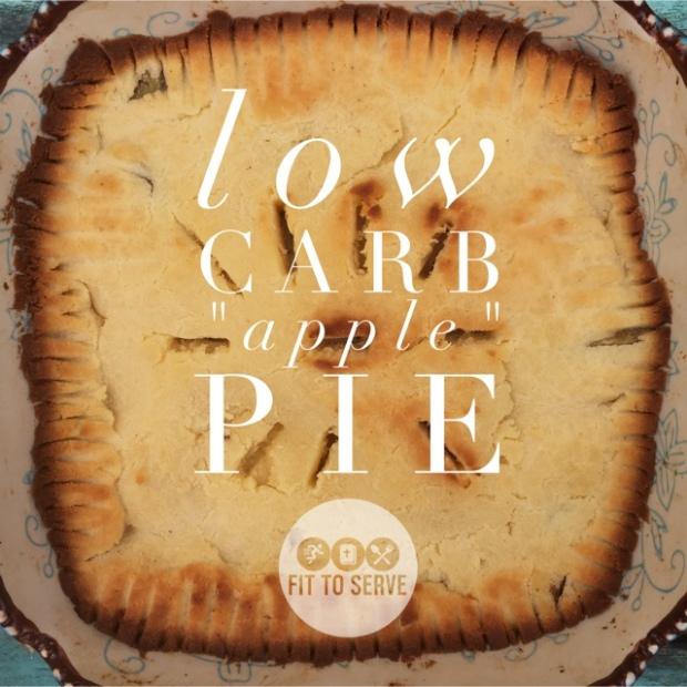 "Low Carb Keto ""apple"" Pie"