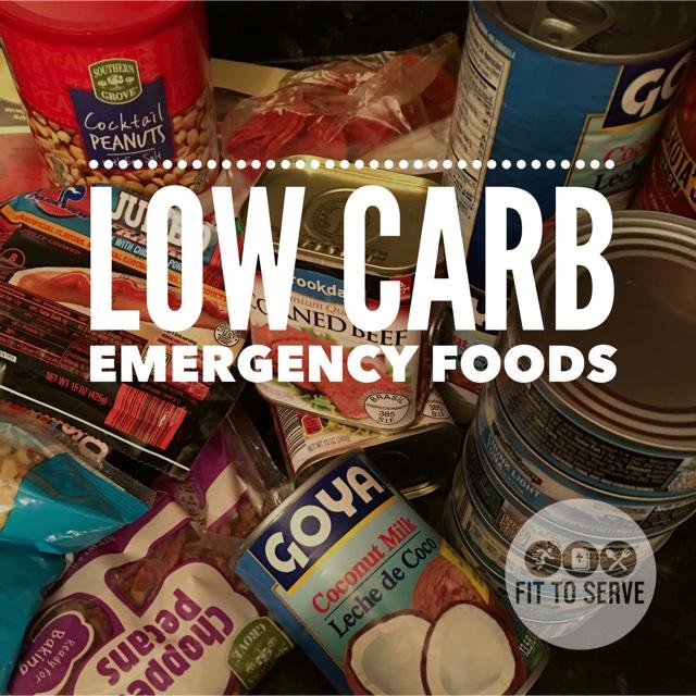 Low Carb Emergency Prep