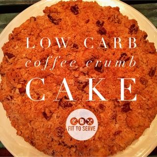low carb coffee cake
