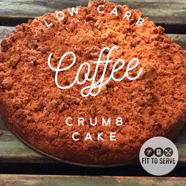 keto coffee crumb cake