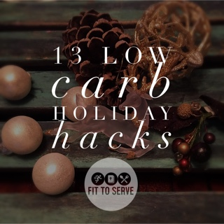 low carb tips for the holidays