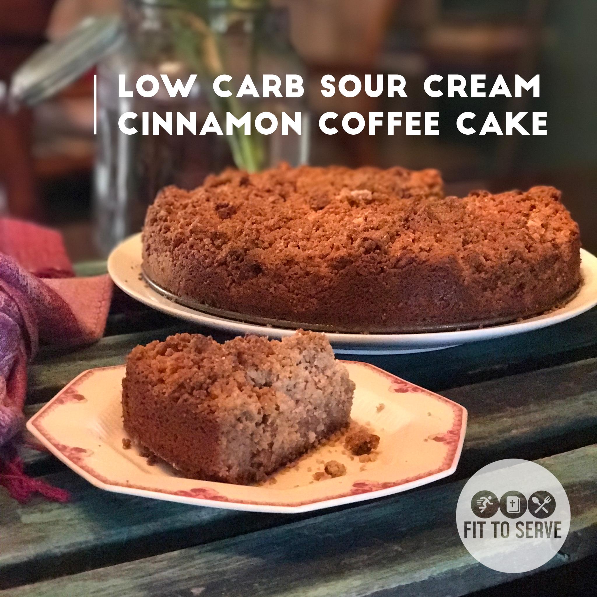 Low Fat Cinnamon Coffee Cake 7
