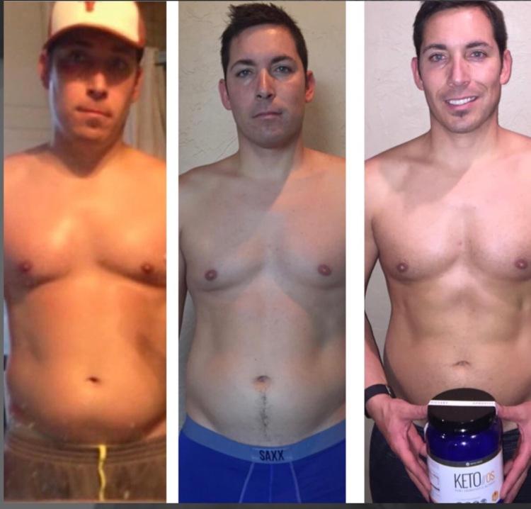 Joshua Rodriquez Pruvit transformation
